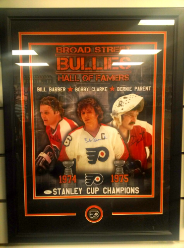 Broad Street Bullies Signed 16x20 Framed