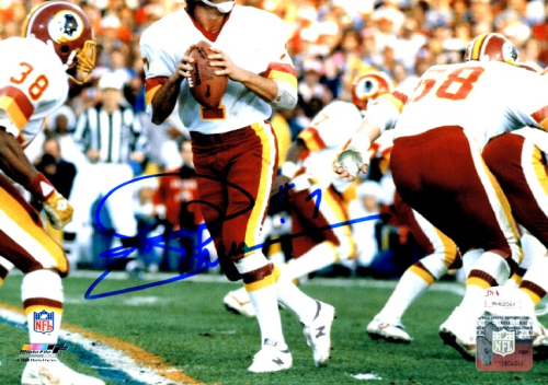 Joe Theismann Signed 8x10