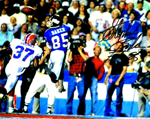 Stephen Baker Signed 8x10