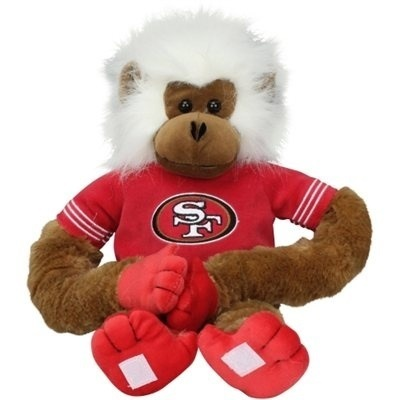 49ERS CLING MONKEY