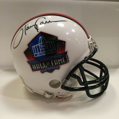 Harry Carson New York Giants Autographed Hall of Fame Mini Helmet