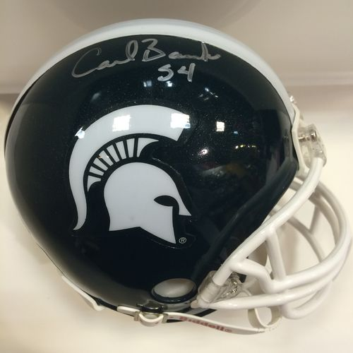 Carl Banks Michigan State University Spartans Autographed Mini Helmet
