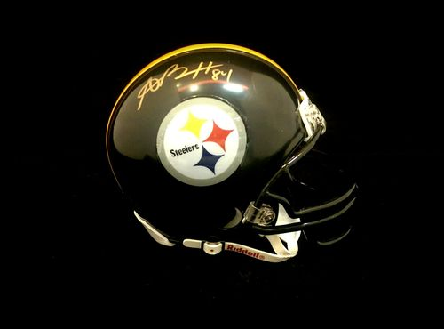 Pittsburgh Steelers Antonio Brown Autograph Mini Helmet
