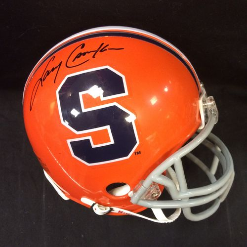 Larry Csonka Autographed Syracuse Orange Mini Helmet