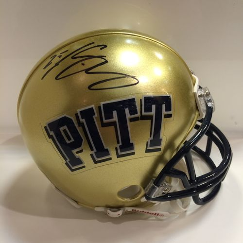 LeSean McCoy Autographed University of Pittsburgh Mini Helmet