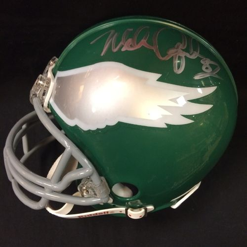 Mike Quick Autographed Philadelphia Eagles Mini Helmet