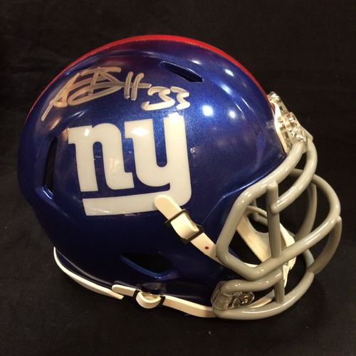 Andre Brown Autographed New York Giants Mini Helmet