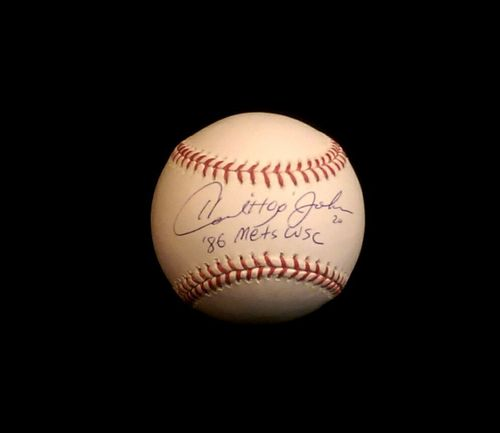 Howard Johnson Autograph OML Baseball