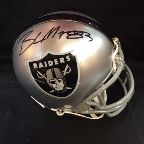 Brandon Myers Autographed Oakland Raiders Mini Helmet