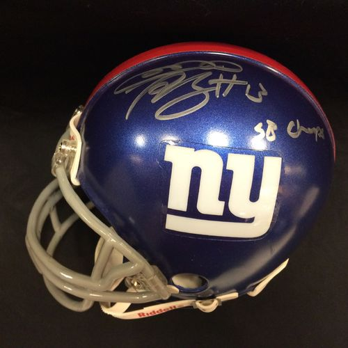 Ramses Barden Autographed New York Giants Mini Helmet