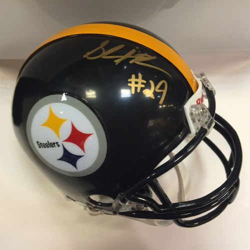 Shamarko Thomas Autographed Pittsburgh Steelers Mini Helmet
