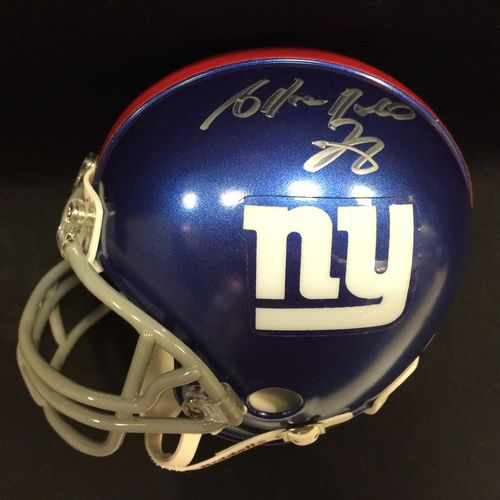 Antrel Rolle Autographed New York Giants Mini Helmet