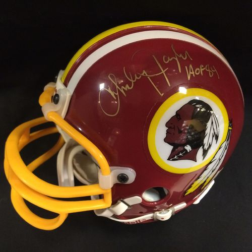 Charley Taylor Autographed Washington Redskins Mini Helmet