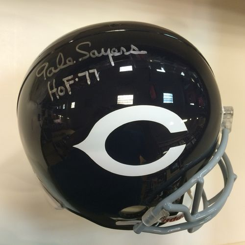 Gale Sayers Autographed Chicago Bears Full Size Helmet