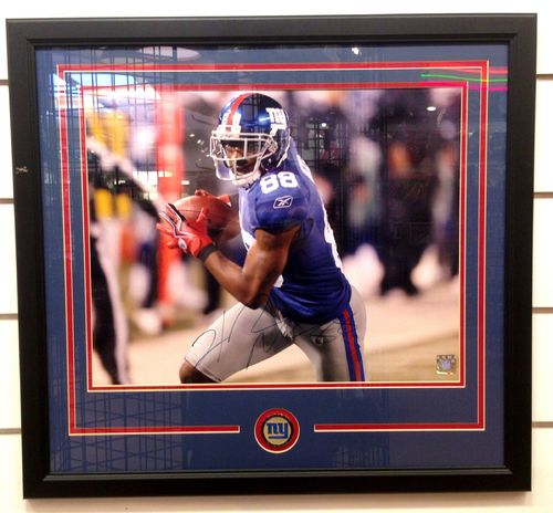 New York Giants Hakeem Nicks Autograph 16x20 Framed