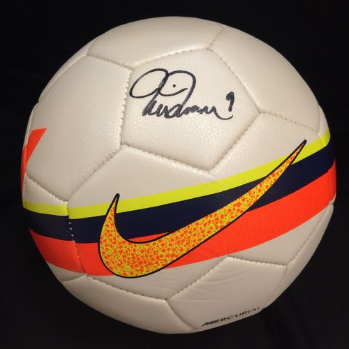 Mia Hamm Autographed Soccer Ball