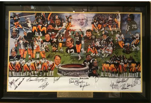 Steelers Dynasty Autographed/Framed Picture