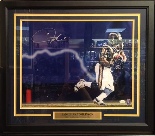 Ladainian Tomlinson Autographed/Framed Picture