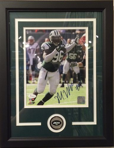 Muhammad Wilkerson Autographed/Framed Picture