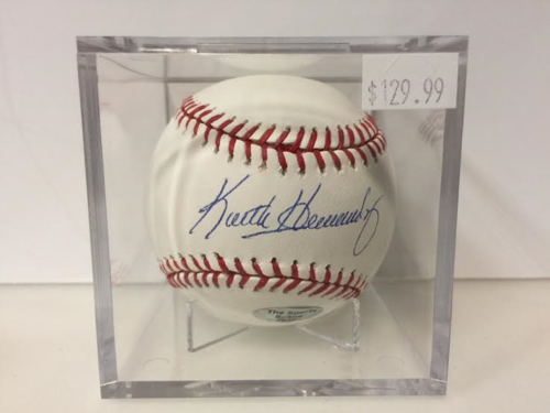 Keith Hernandez AUTOGRAPH BASEBALL WITH COA