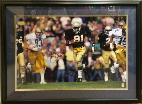 Tim Brown Autographed/Framed Picture