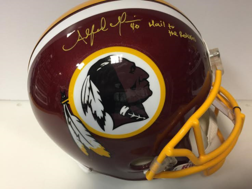 Alfred Morris AUTOGRAPH REDSKINS F/S HELMET WITH COA