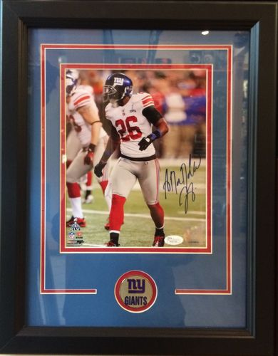 Antrel Rolle Autographed/Framed Picture