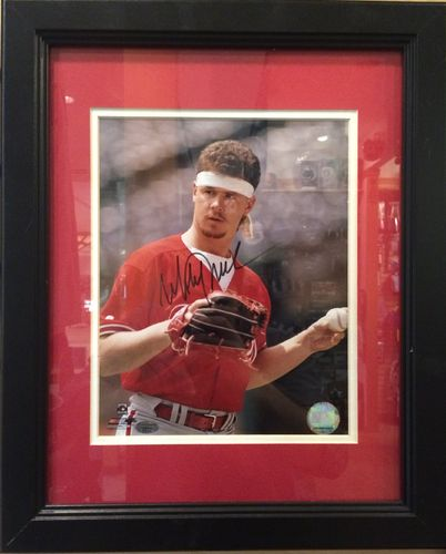 "Mitch Williams ""Wild Thing"" Autographed/Framed Picture"