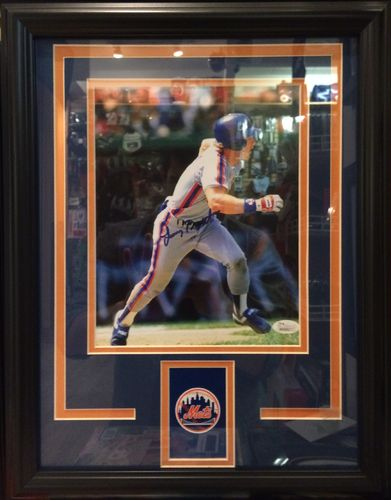 Lenny Dykstra Autographed/Framed Picture