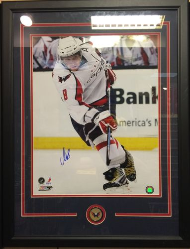 Alex Ovechkin Autographed/Framed Picture