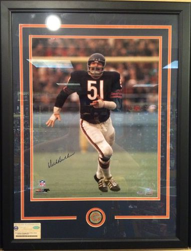 Dick Butkus Autographed/Framed Picture
