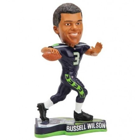 Seattle Seahawks Russell Wilson Player Bobble
