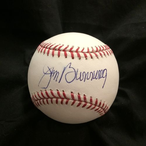 Jim Bunning Philadelphia Phillies Autographed Baseball