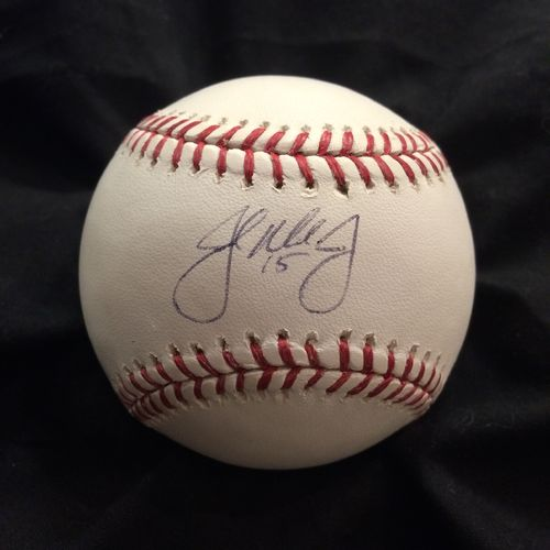 John Mayberry Jr. Autographed Baseball