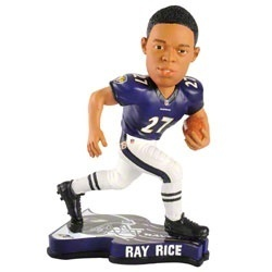 Baltimore Ravens Ray Rice Player Bobble