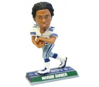 Dallas Cowboys Marion Barber Player Bobble