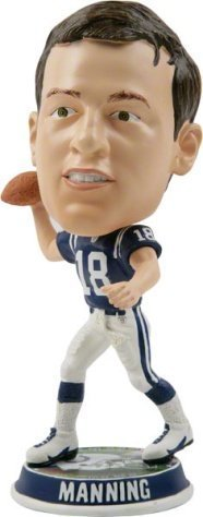 Indianapolis Colts Peyton Manning Player Bobble