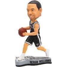 Brooklyn Nets Deron Williams Player Bobble