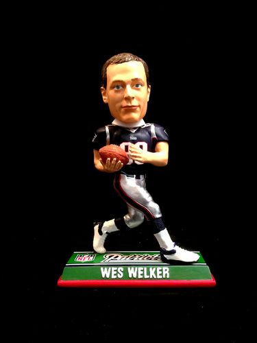 New England Patriots Wes Welker Player Bobble