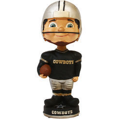 Dallas Cowboys Retro Bobble Head Figurine