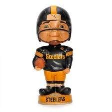 Pittsburgh Steelers Retro Bobble Head Figurine