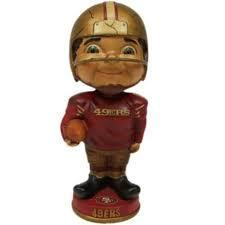 San Francisco 49ers Retro Bobble Head Figurine