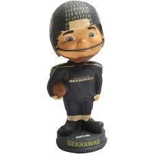 Seattle Seahawks Retro Bobble Head Figurine