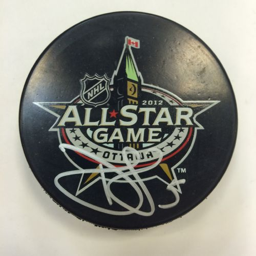 Dan Girardi 2012 All Star Game Autographed Hockey Puck