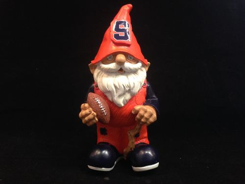 Syracuse Orange Mini Garden Gnome