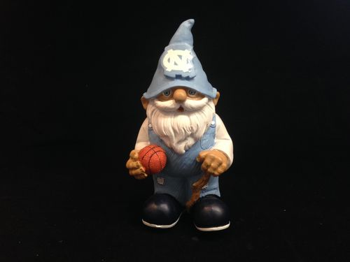 North Carolina Tar Heels Mini Garden Gnome