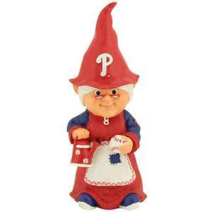 Philadelphia Phillies Mrs. Garden Gnome