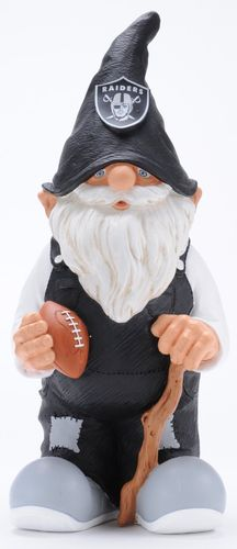 Oakland Raiders Garden Gnome