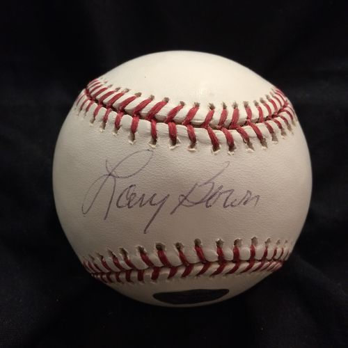 Larry Bowa Philadelphia Phillies Autographed Baseball