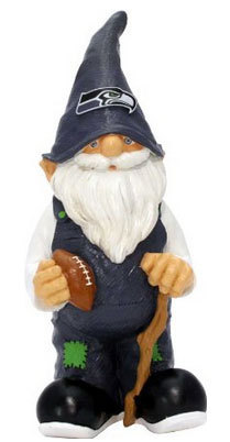 Seattle Seahawks Garden Gnome